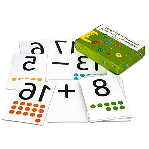 magnetic flash cards
