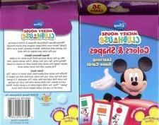 Mickey Mouse Clubhouse Colors & Shapes Learning Game Cards