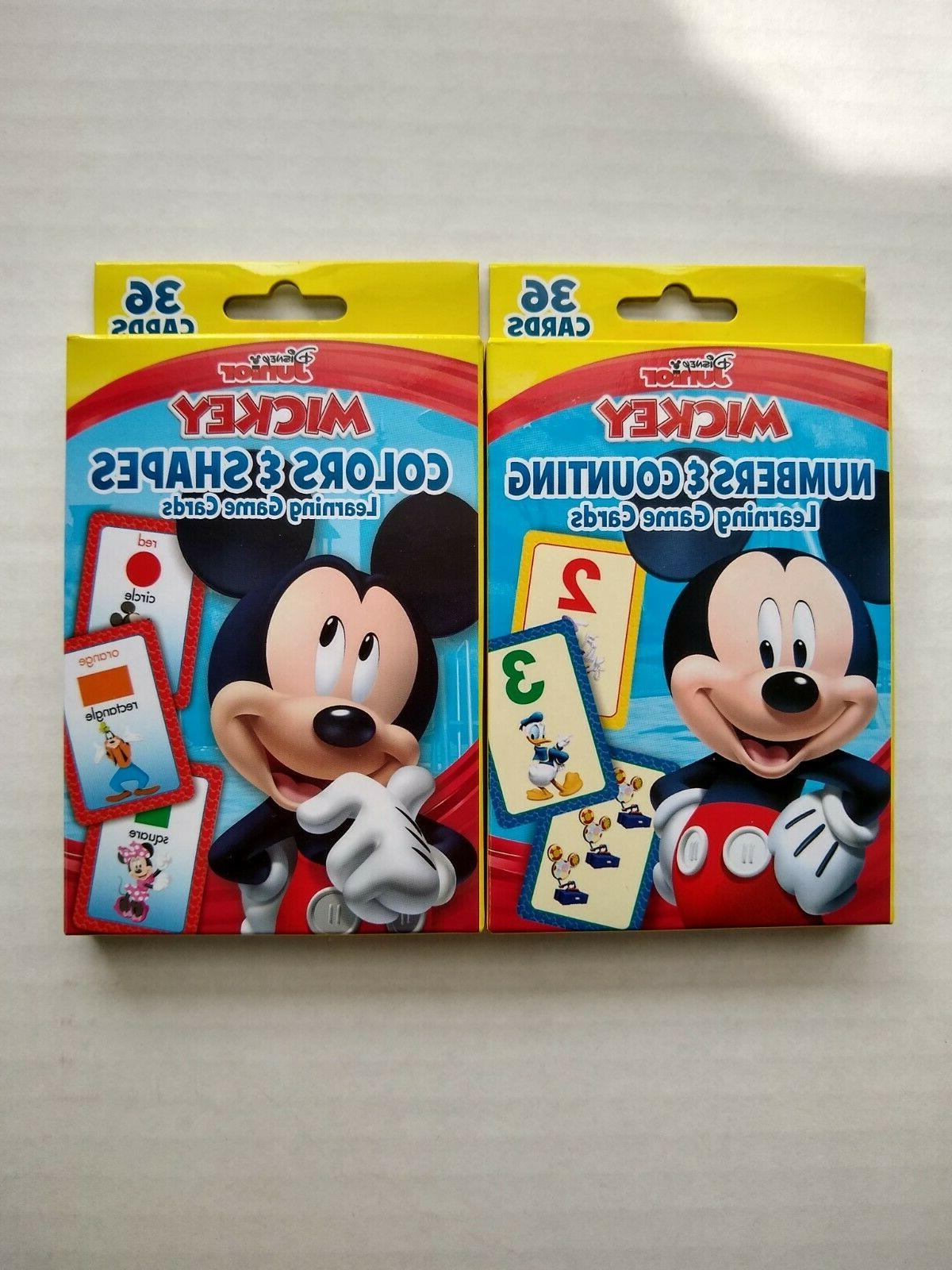 Mickey Mouse Clubhouse Numbers & Counting Learning Game Card