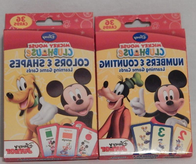 Mickey Mouse Clubhouse Flash Card Learning Numbers Counting