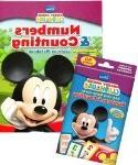 Mickey Mouse Clubhouse Numbers & Counting Workbook & Flash C