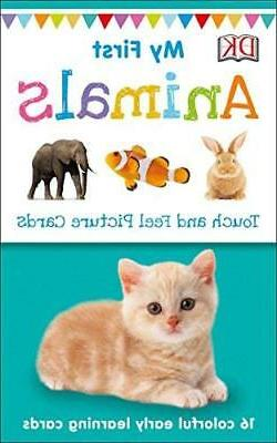 My First Touch and Feel Picture Cards: Animals My 1st T&F Pi