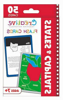 new 50 states and capitals flash cards