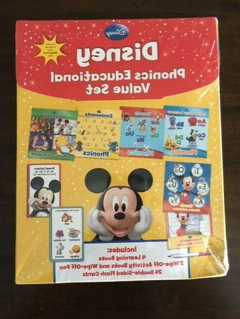 phonics educational value set mickey mouse learning