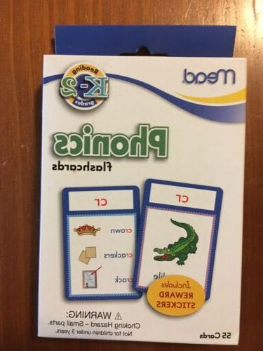 phonics flash cards reading tool k 2