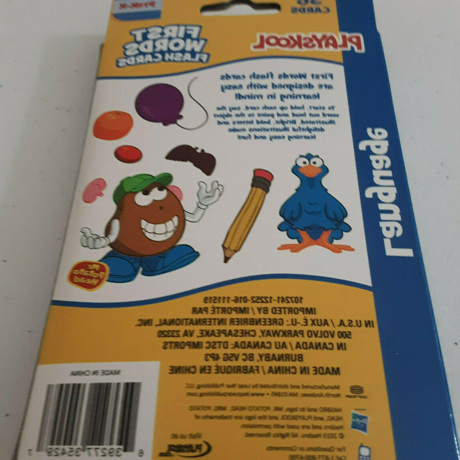 Playskool First Cards 36 Learning Pre
