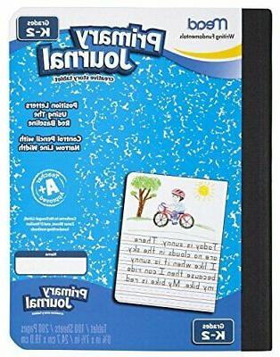 Mead Primary Journal Creative Story Tablet, Grades K-2, 6 Pa