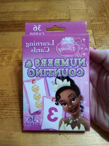 princess learning cards flash cardd numbers counting