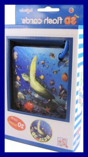 real 3d flash cards marine