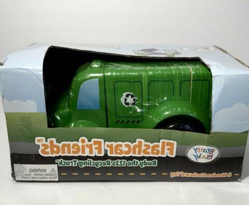 rudy the 123s recycling truck flashcard friends