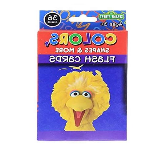 Bazic 3 Sesame Street Early Learning, Numbers Flash