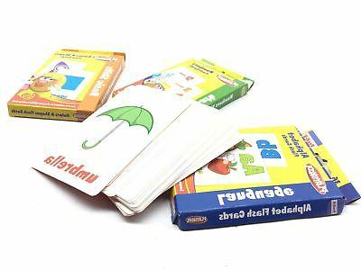 set of 2 flashcards first words