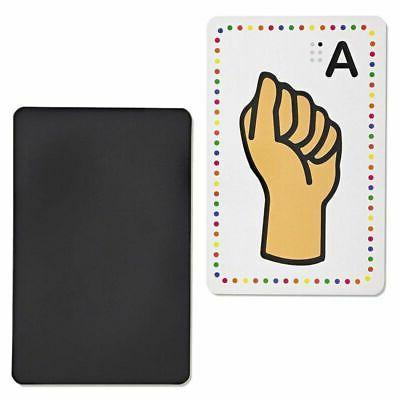 Set of Magnetic Sign Flash Cards x