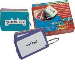 Sight Words In A Flash - Set 2; Grades 1-2; no. EP-2316 by E