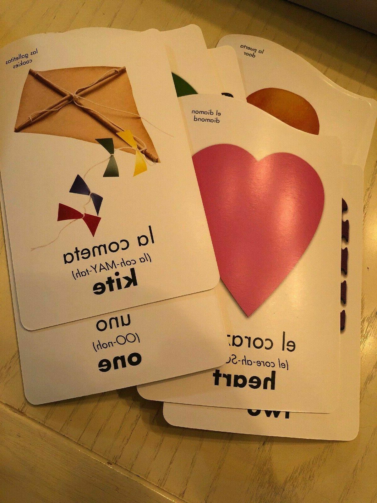 Spanish English Bilingual Cards Cards