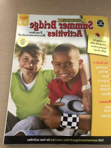 Summer Bridge Activities Grades 3rd 4th Reading Writing Math