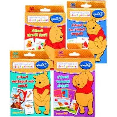 winnie pooh learning cards