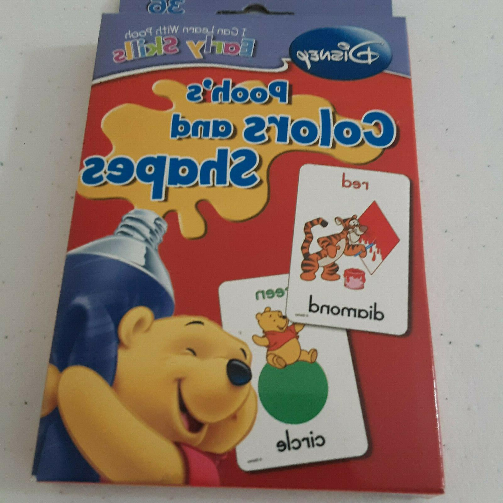 winnie the pooh colors and shapes flash