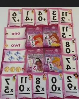 Learning Flash Cards Disney Princess Multiplication Subtract