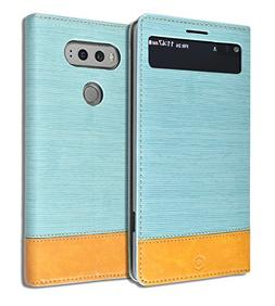 LG V20   Diary Book Leather ID Credit Card Wallet Standing S