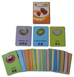YouPac Kids Local Explorer Flash Cards bilingual - Food