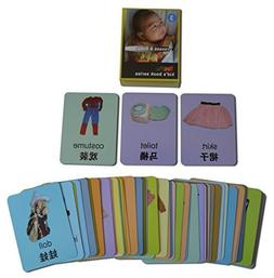 YouPac Kids Local Explorer Flash Cards bilingual - Dresses &