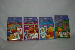 lot of 4 Disney Winnie the Pooh flash cards, numbers words t