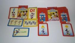 M.M CLUBHOUSE LEARNIN' GAME FLASH CARDS-COLOR&SHAPES WITH NU