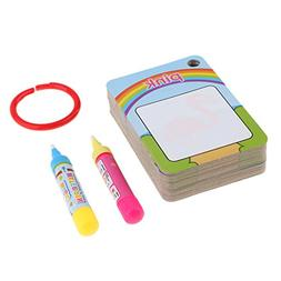 Homyl Magic Water Drawing Flash Card Painting Doodle Early L