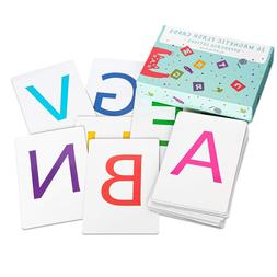 Attractivia Magnetic Alphabet ABC Flash Cards - 26 Letters