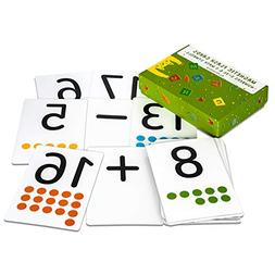 Magnetic Flash Cards - Large Numbers 0-25 with Math Symbols