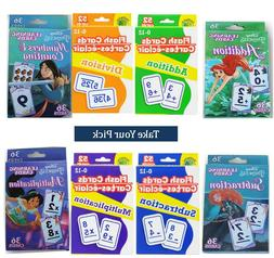 Math Flash Cards For Kids Disney Addition Subtraction Multip
