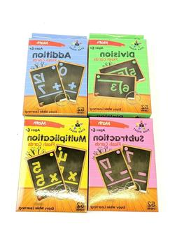 Math Flashcards Star Right Multi Addition Subtraction Multip
