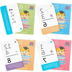 Math Mastery Bundle: 715 Self-Checking Flashcards with Word
