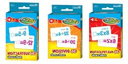 Math Multiplication Division Subtraction Flash Cards - Bundl