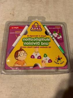 Star Right Math Triangle Flash Cards: Multiplication & Divis