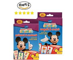 Mickey Mouse Number & Counting Card Flash Cards Learning Gam