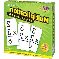 Multiplication 0-12 Skill Drill Flash Cards for Teaching For