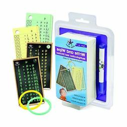 Star Right Multiplication and Division Flash Cards, Write an