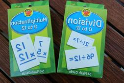 Brighter Child Multiplication and Division Learning Flash Ca