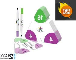 multiplication and division triangle flash cards facts
