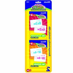 BAZIC Multiplication and Division Mini Flash Card, 36 Count