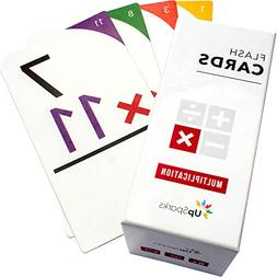 UpSparks Multiplication Flash Cards 0-12  with Printable Gam