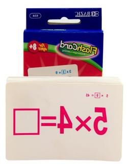 Multiplication Flash Cards Quantity: Case of 72