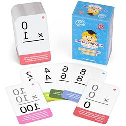 Multiplication Math Flash Cards with Word Problems - Include