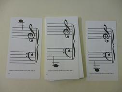 Music Flash Cards - Music Notes