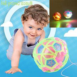 Fashion Music New Light-Up Ball Flash Kid Creative Puzzle El