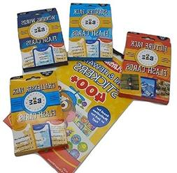 National Spelling Bee Flash Card Set Includes 4 Card Packs w