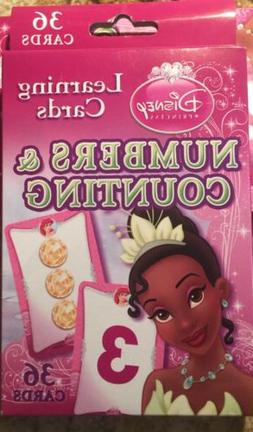 NEW Disney Princess Learning Flash Cards - Numbers & Countin