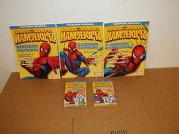 NEW Spiderman Flash Cards & Workbooks-Add/Subtract/Multiply/